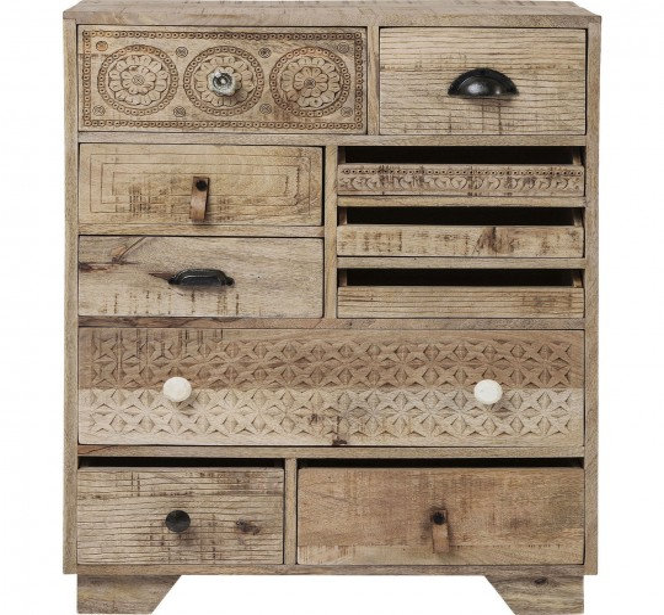 Commode Puro 10 tiroirs Kare Design