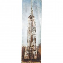 Tableau Iron State Building 180x56cm Kare Design