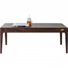 Table basse Brooklyn walnut 115x60cm Kare Design