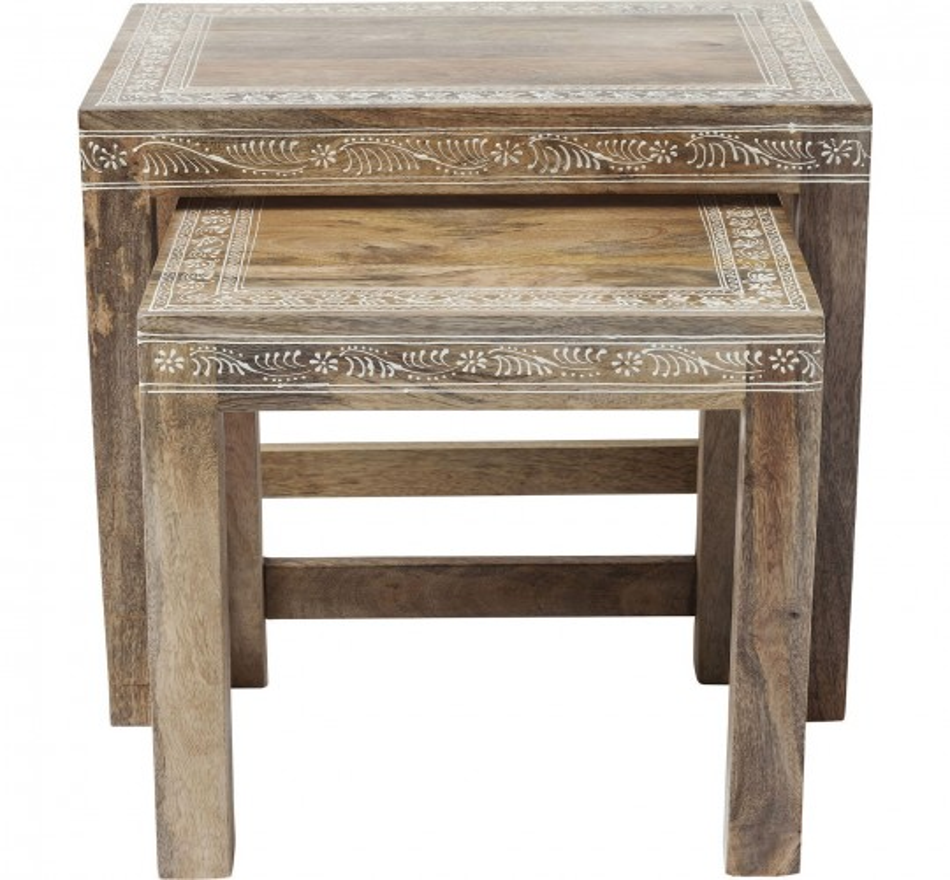 Tables d'appoint Desert Queen 2/set Kare Design