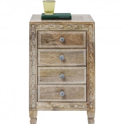 Chevet Desert Queen 4 tiroirs Kare Design