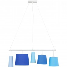 Suspension Parecchi blanche 100 cm Kare Design