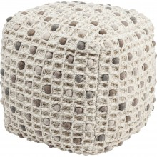 Pouf Pebbles nature 45x45cm Kare Design