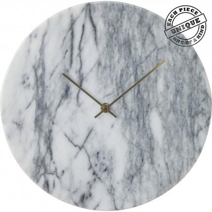 Horloge murale Desire marbre blanc Kare Design