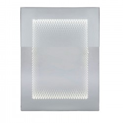 Miroir Tube 80x60 cm LED Kare Design