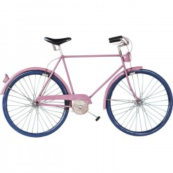 Déco murale City Bike fuchsia Kare Design