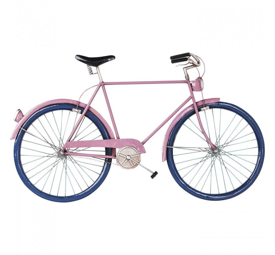 Déco murale City Bike fuchsia Kare Design