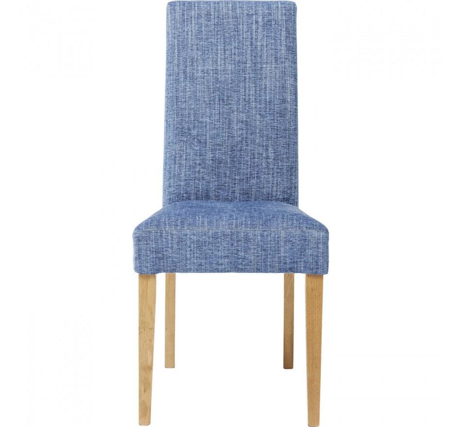 Chaise Econo Slim Salty bleu Kare Design
