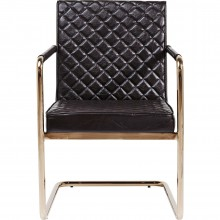 Chaise avec accoudoirs Cantilever Beverly Hills Kare Design