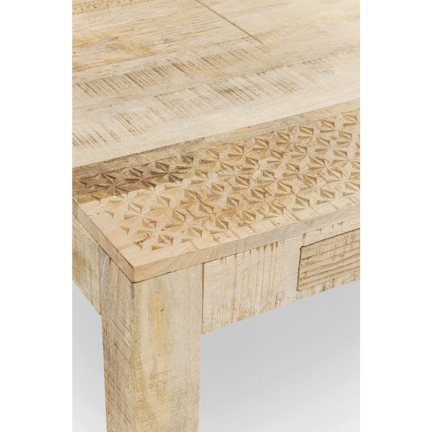 Table Puro 2 tiroirs 180x90cm Kare Design