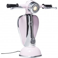 Lampe de table Scooter fuchsia Kare Design
