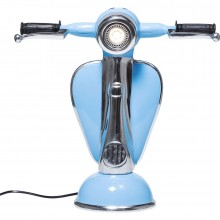 Lampe de table Scooter bleu Kare Design