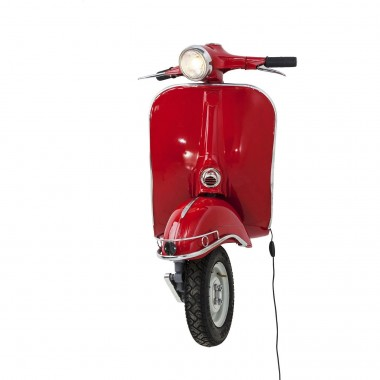 Applique Scooter rouge Kare Design