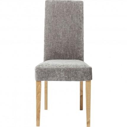 Chaise Econo Slim shine grise Kare Design