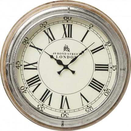 Horloge murale bois Picadilly Circus Kare Design