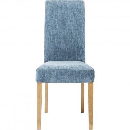 Chaise Econo Slim shine bleue Kare Design