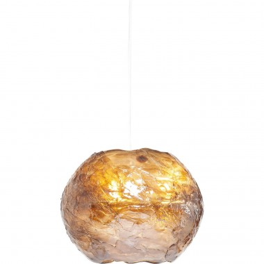 Suspension Modo rond marron Kare Design