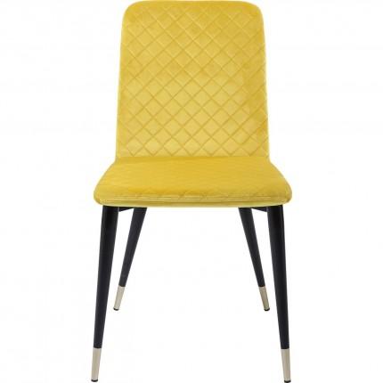 Chaise Montmartre jaune Kare Design