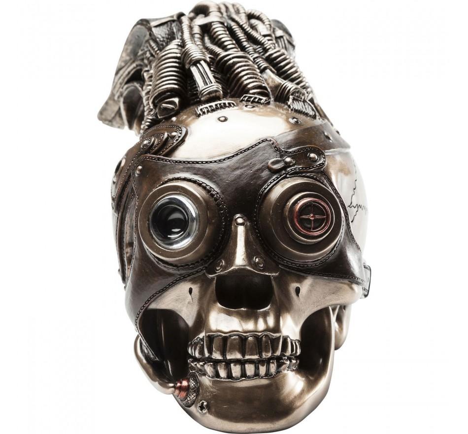 Deco Steampunk Skull Kare Design