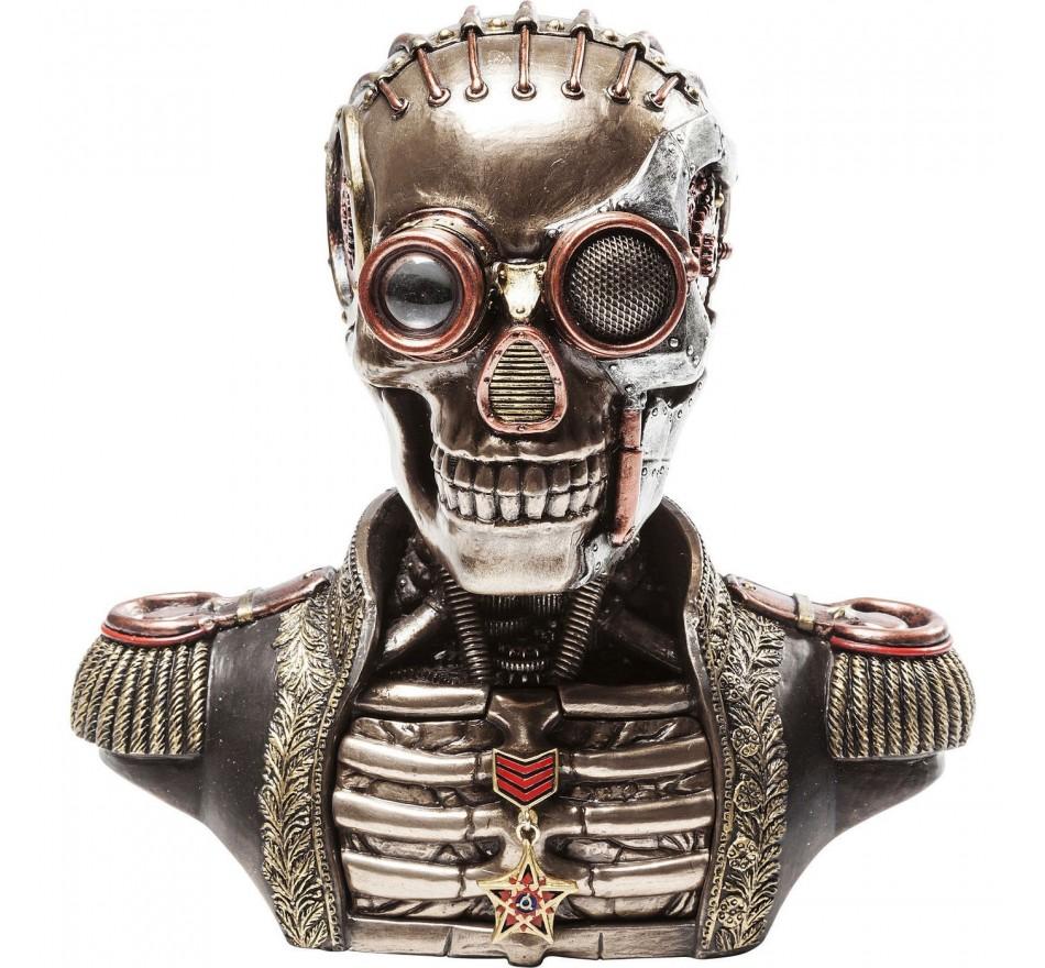 Boîte Steampunk Skull Kare Design