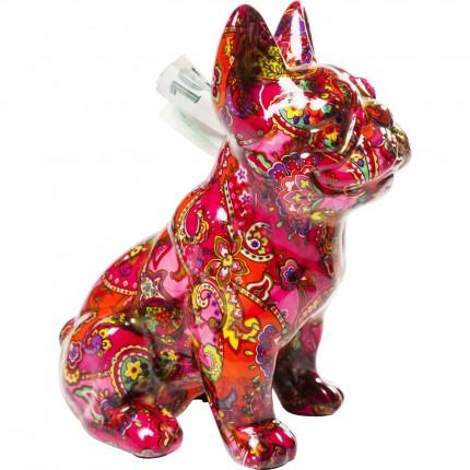 Tirelire Bulldog Paisley Kare Design