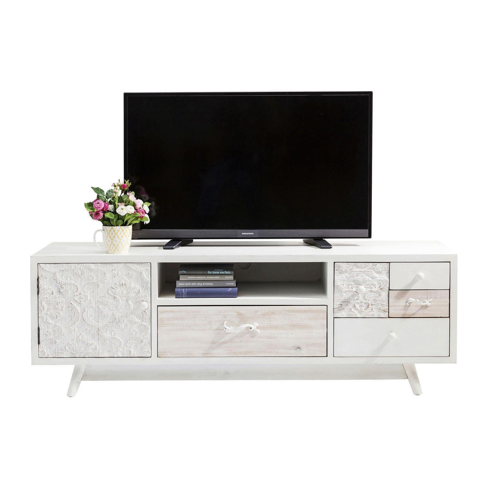 Meuble tv boh me sweet home kare design - Bibliotheque meuble sweet home d gratuit ...