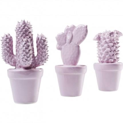 Deco Cactus Rose set de 3 Kare Design
