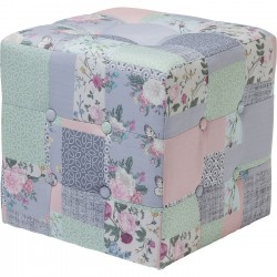 Pouf Patchwork Powder 40x40cm Kare Design