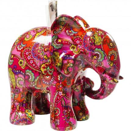 Tirelire Elephant Paisley Kare Design