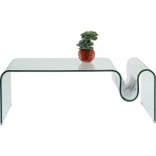 Table basse Visible Wave 120x60 cm Kare Design