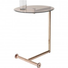 Table d'appoint Easy Living cuivre 46 cm Kare Design
