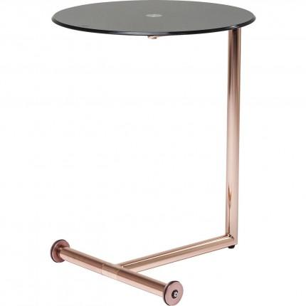 Table d'appoint Easy Living cuivre Kare Design