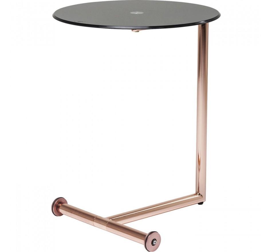 Table d'appoint Easy Living cuivre 46 cm Kare Design