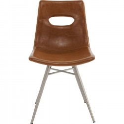 Chaise Venice brun Kare Design