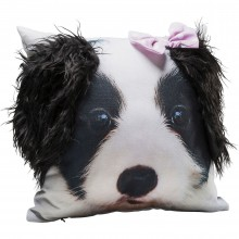 Coussin Mr. Terrier 45x45cm Kare Design