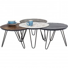 Tables basses Finca 4/set Kare Design