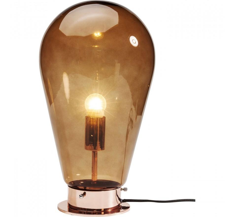 Lampe de table Bulb cuivre Kare Design