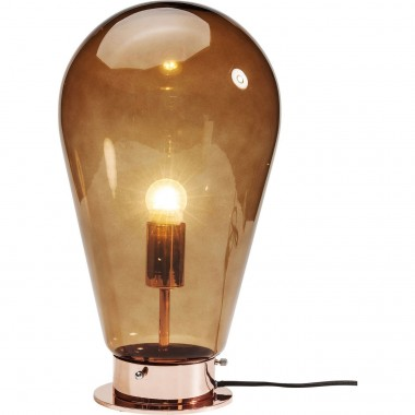 Lampe de table Bulb cuivre Kare Design