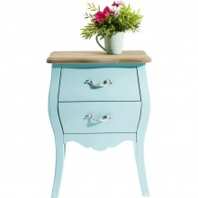Commode Romantic bleu clair 45cm Kare Design