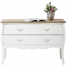 Commode Romantic blanche 120cm Kare Design