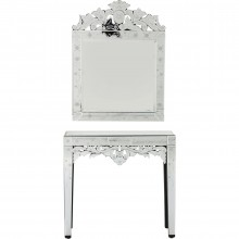 Console + miroir Princess 2/set Kare Design