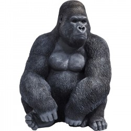 Déco Gorille XL 76cm noir Kare Design