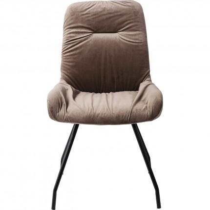 Chaise Claw marron Kare Design