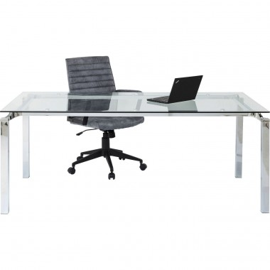 Bureau Lorenco chrome 180x90cm Kare Design