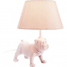 Lampe de table Mops fuchsia Kare Design