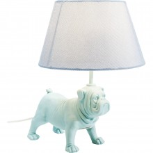 Lampe de table Mops bleu clair Kare Design