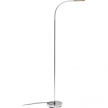 Lampadaire Literature chrome LED Kare Design