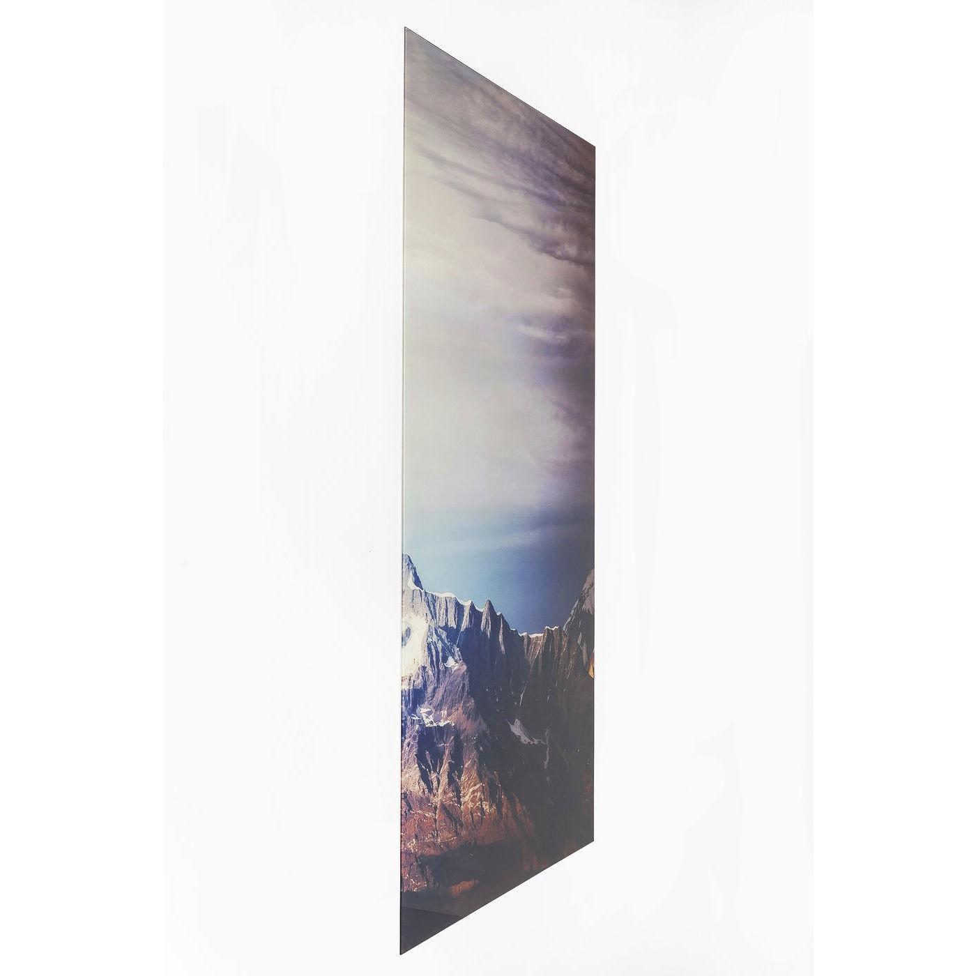 Tableaux en verre Triptychon Matterhorn 160x240cm set de 3 Kare Design