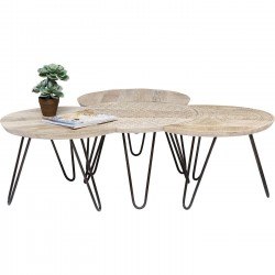 Tables basses Puro set de 4 Kare Design