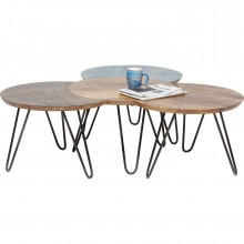 Table basse Soleil 4/set Kare Design